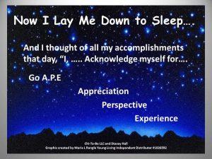 Appreciation Perspective Experience