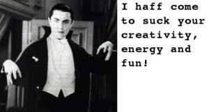 The #1 Way To Vanquish Energy Vampires