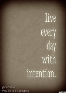 Liver Every day with intention