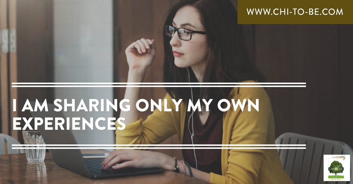 I am sharing only my own experiences