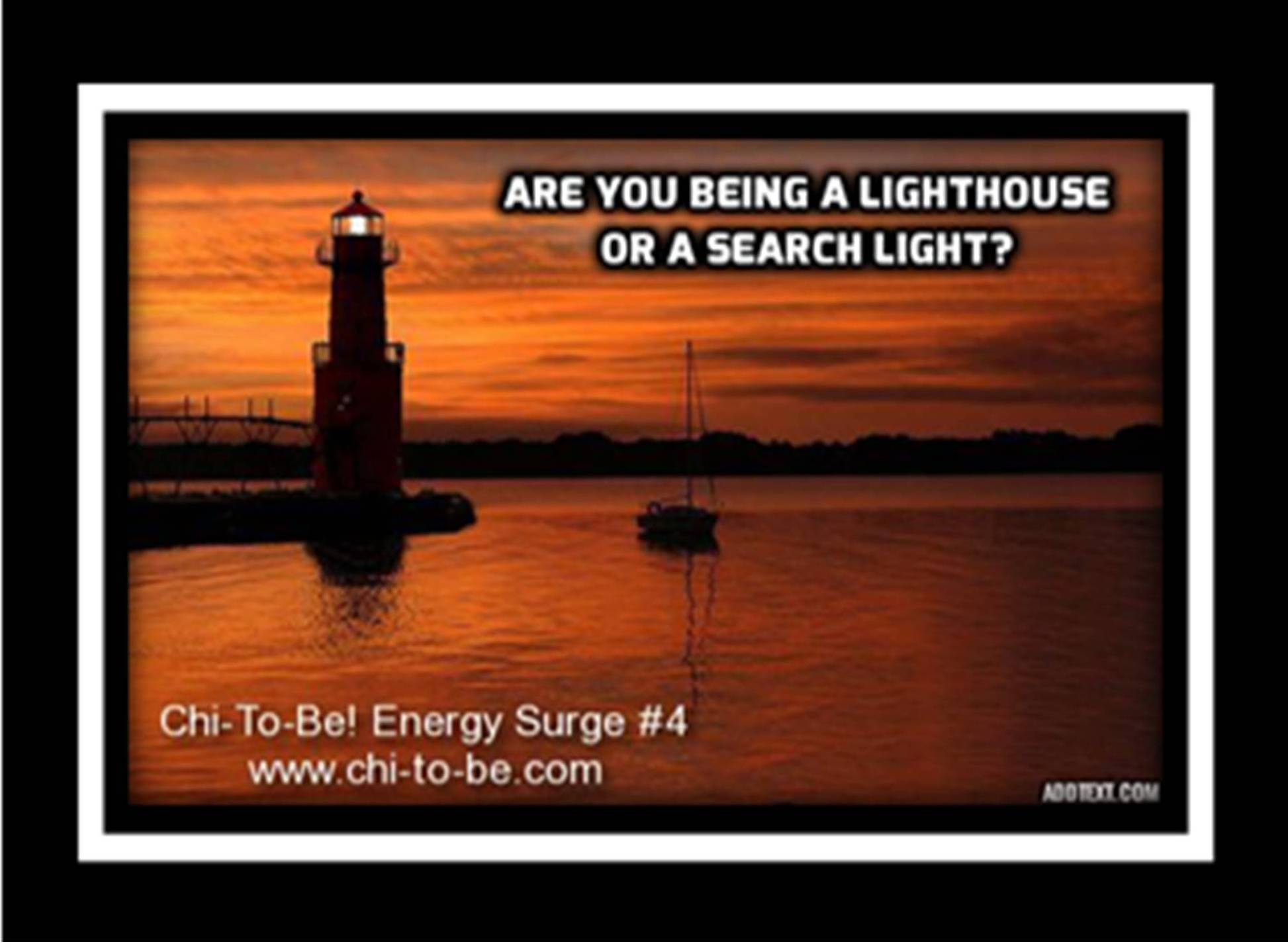 Search Light or Lighthouse