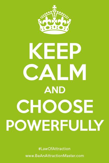 Choose Powerfully