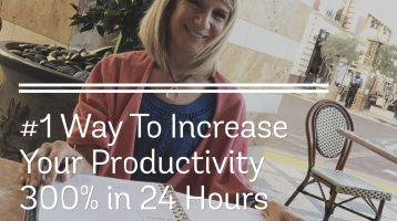 How To Increase Your Productivity by 300% in 24 Hours